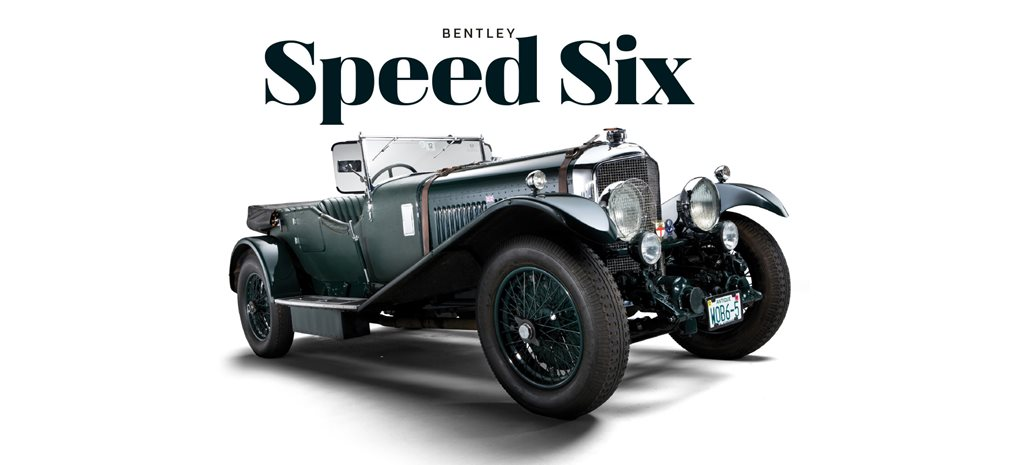 Retro: 1929 Bentley Speed Six