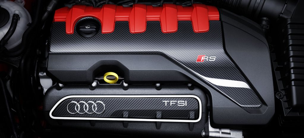 Emissions laws won't kill the RS 3's five-cylinder turbo, says Audi