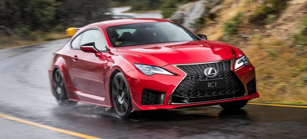 2019 Lexus RC F performance review feature