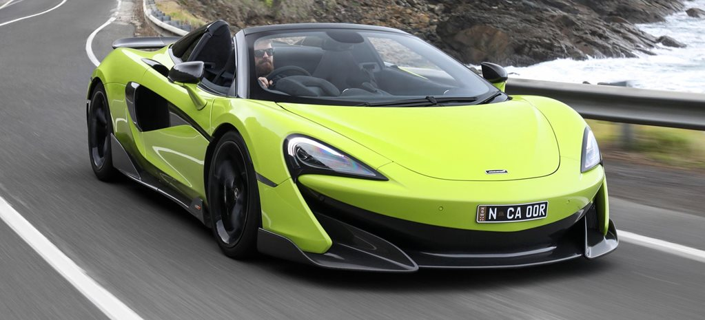 2019 McLaren 600LT Spider performance review feature