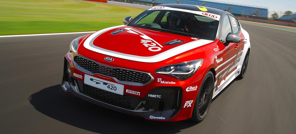 Kia Stinger GT 315kW GT420 track car feature