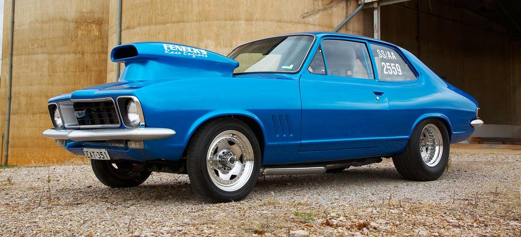Nitrous Chev V8-powered Holden LJ Torana - flashback