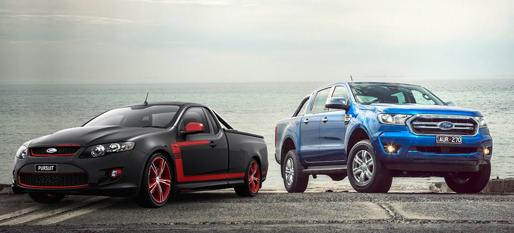 Buy the new Ford Ranger XLT or get a used FPV Pursuit ute