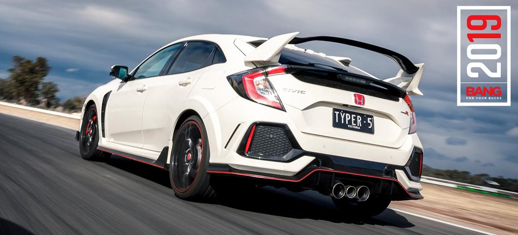 Honda Civic Type R track review Bang For Your Bucks 2019 feature