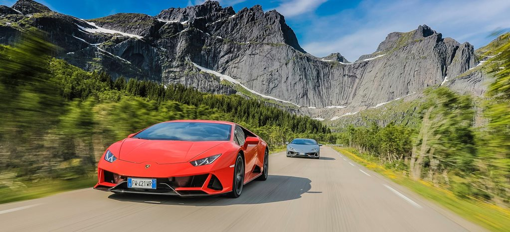 Lamborghini Huracan Evo Norway Gallery feature