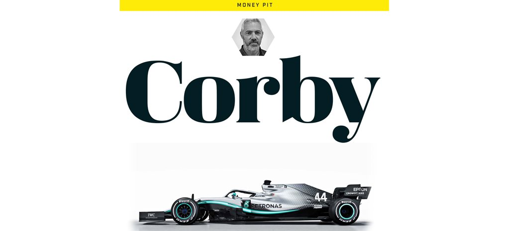 Stephen Corby on the money pit that is Formula 1