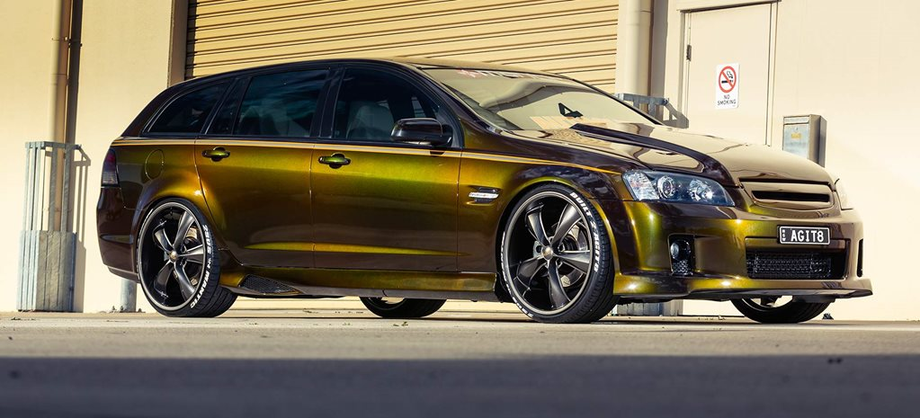 Nitrous LS-powered 2008 Holden VE SS-V wagon - AGIT8