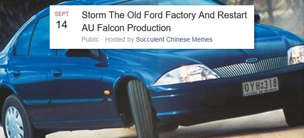 Restart AU Falcon Production event massive attention news