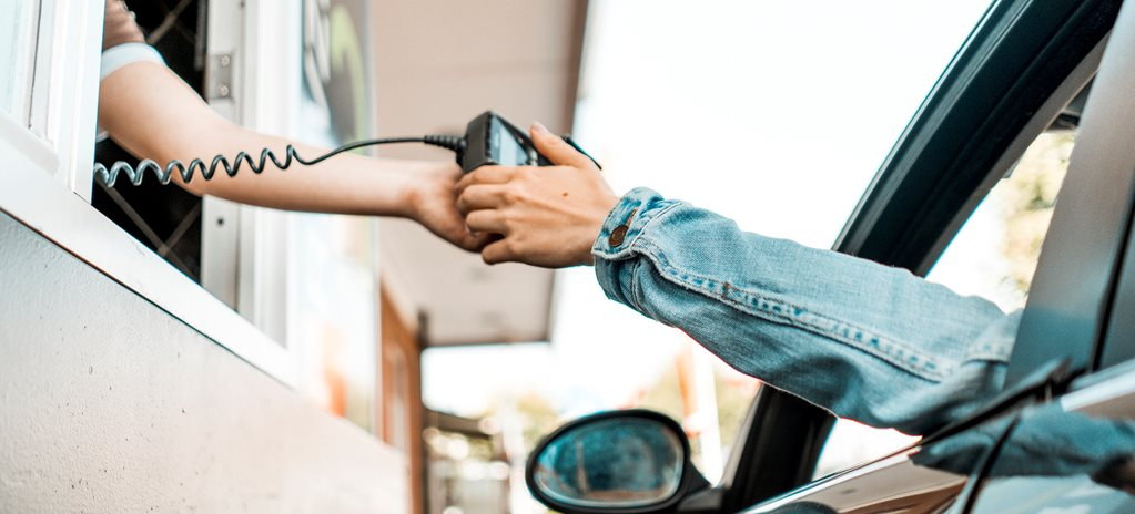 Paying for drive-thru with your phone can be illegal