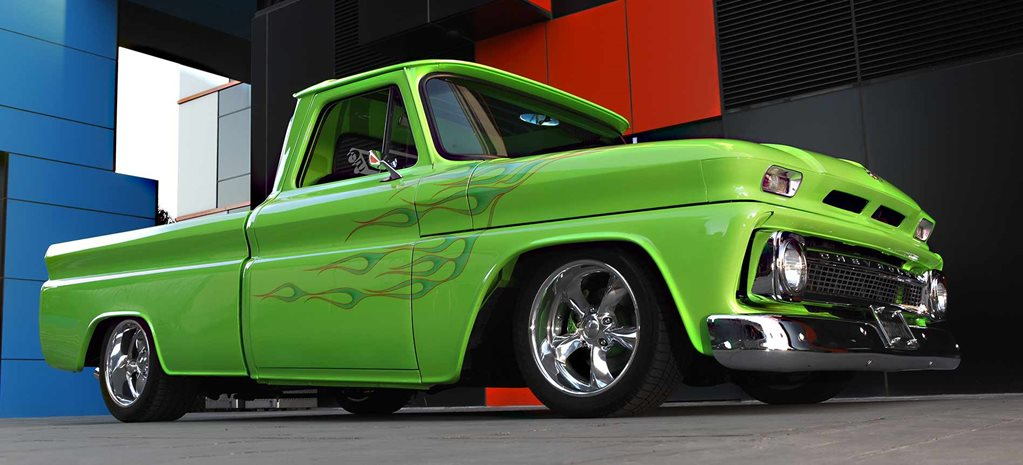 500hp show-quality 1965 Chevrolet C10 pick-up - flashback