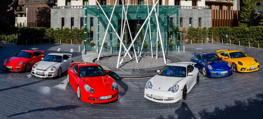 Porsche 911 GT3 20 years celebration feature