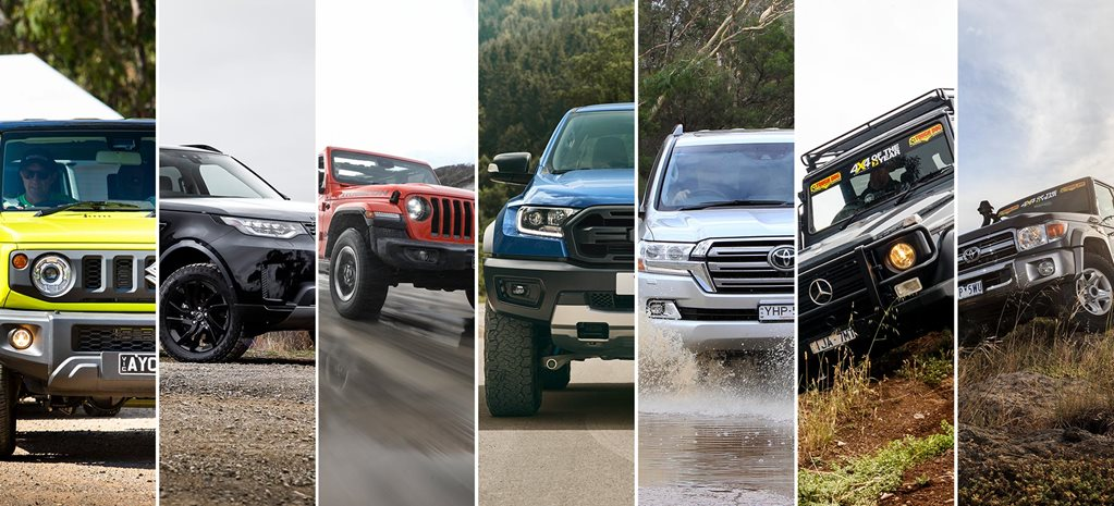 2019 best new off-road 4x4s  feature