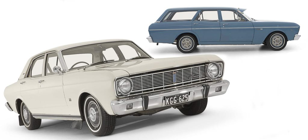 History of the Ford Falcon XR + XT