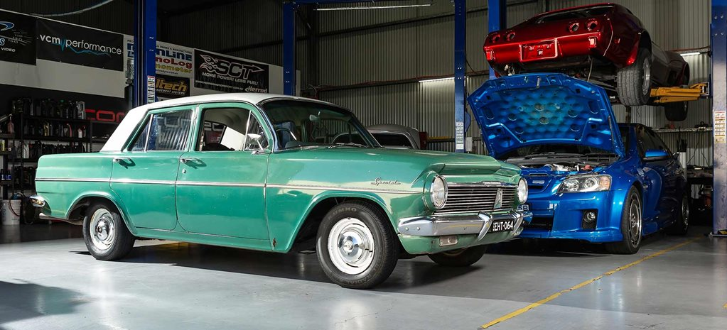 Turbocharged Holden 202-powered 1964 EH