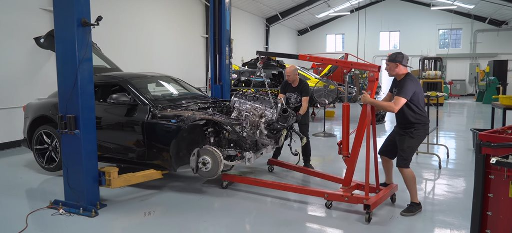 Watch Toyota GR Supra engine dismantled tuning news