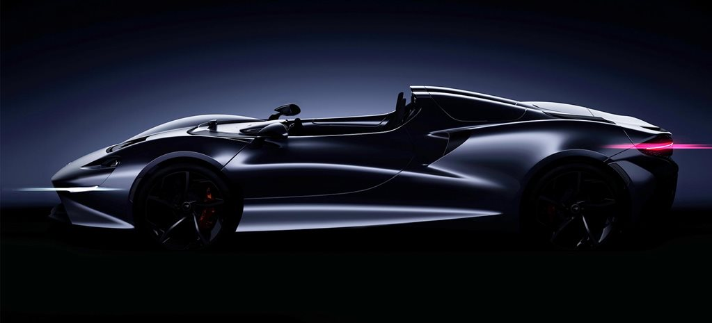 McLaren speedster teaser Pebble Beach news