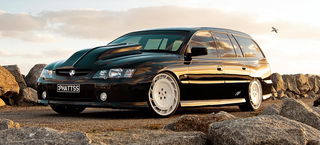 Aaron Condren's Holden VY SS Commodore wagon