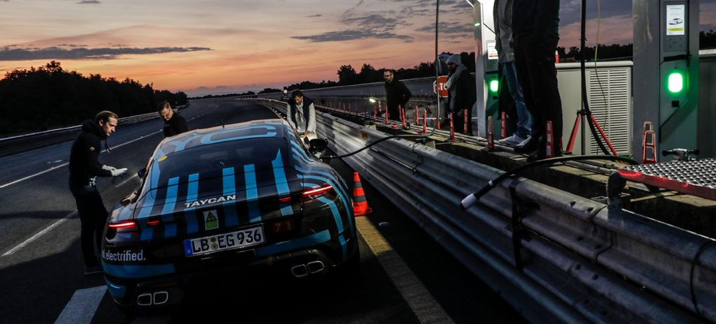 Porsche Taycan drives distance of Melbourne to Perth in one day