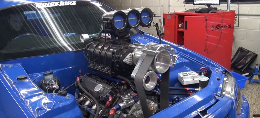 Blown 400ci Windsor-powered BA Falcon ute on the dyno – Video