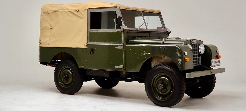 1958 Land Rover Series Shannons Sydney Winter Auction news
