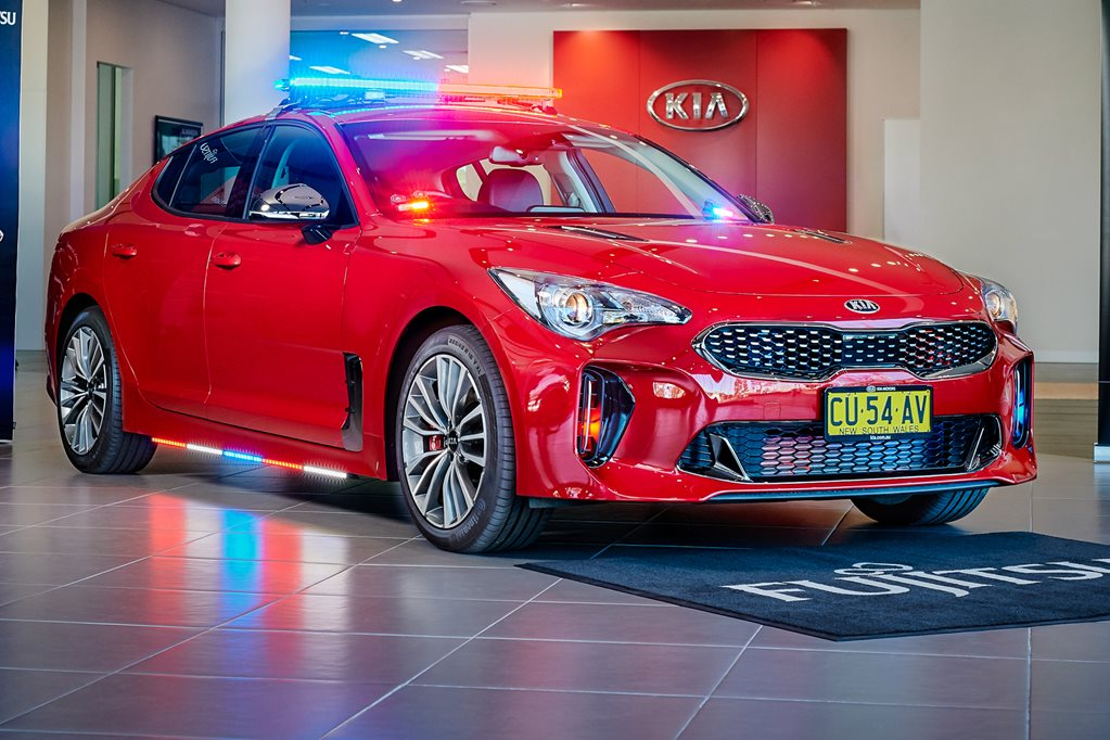 Kia Stinger future police car