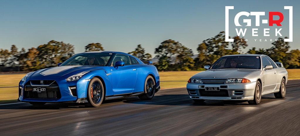 Nissan GT-R generations driven 50 years feature