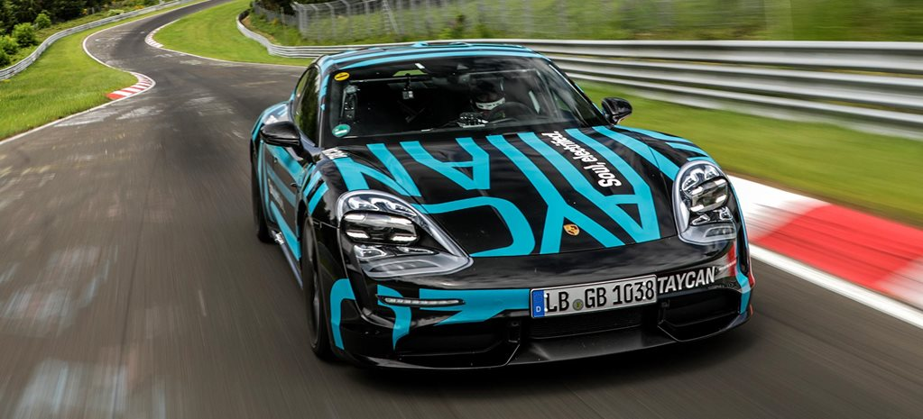 Porsche Taycan four-door electric Nurburgring record news