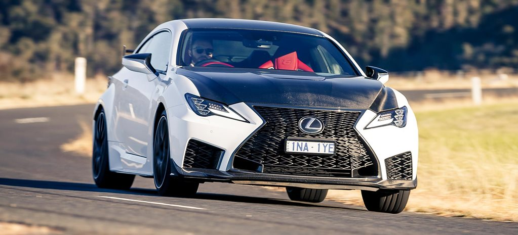 2019 Lexus RC F Track Edition performance review feature