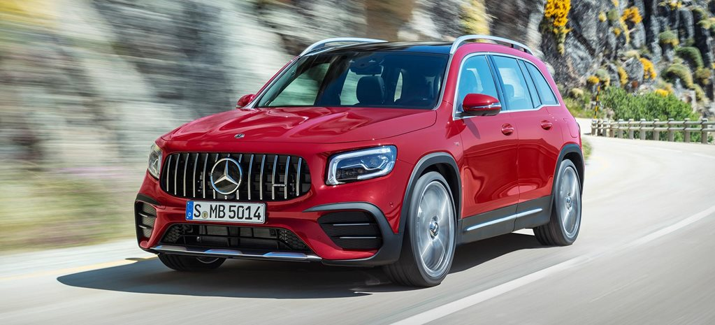 2020 Mercedes-AMG GLB35 revealed news