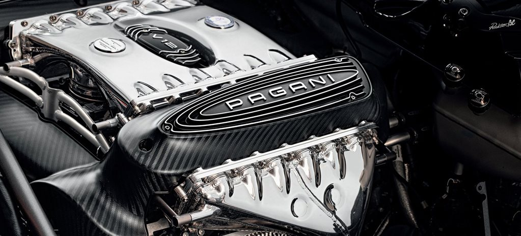 V12 engines to live on at Pagani