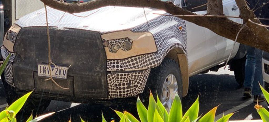 Next Ford Ranger Raptor spotted testing