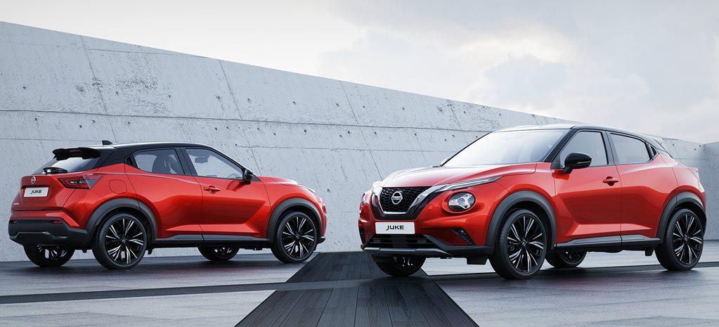 Second-generation Nissan Juke revealed in Europe