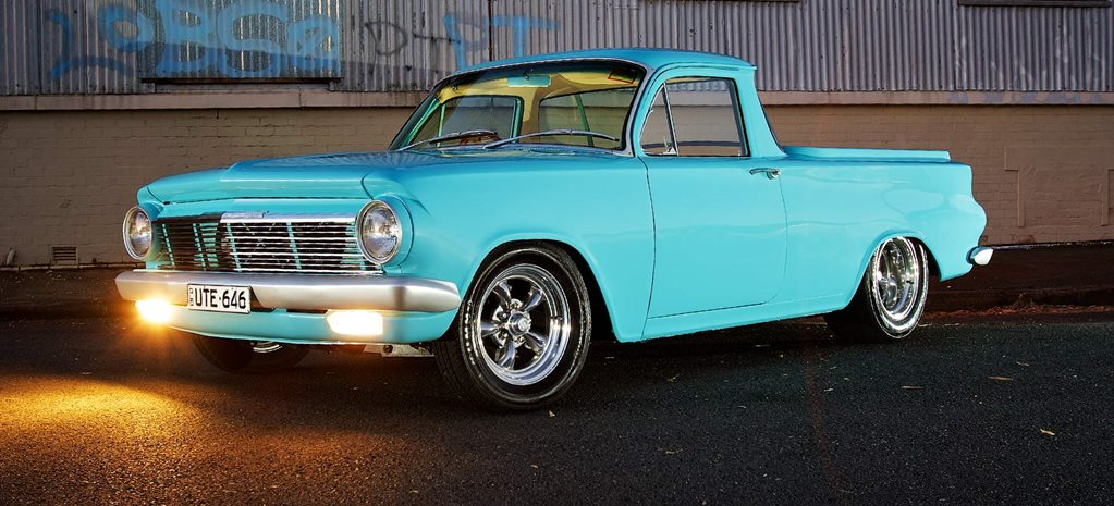 Blown Holden 202-powered 1964 EH ute