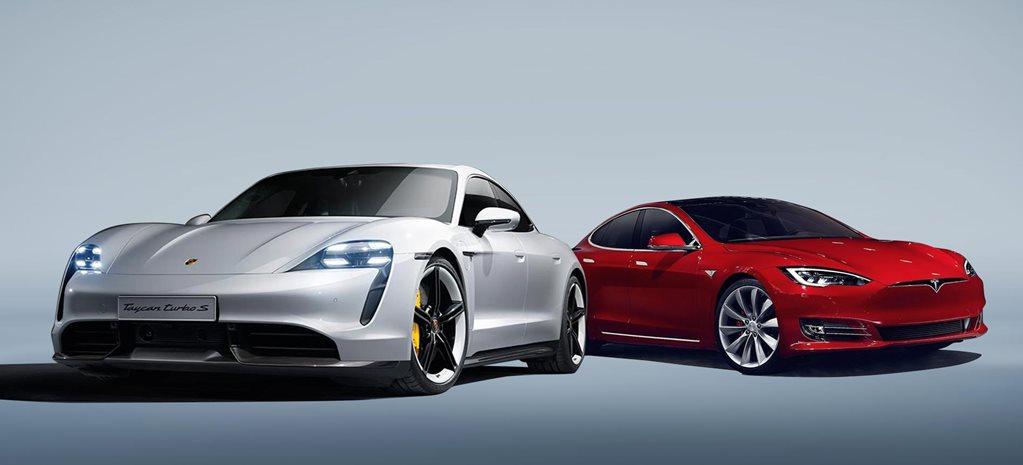 Porsche Taycan Vs Tesla
