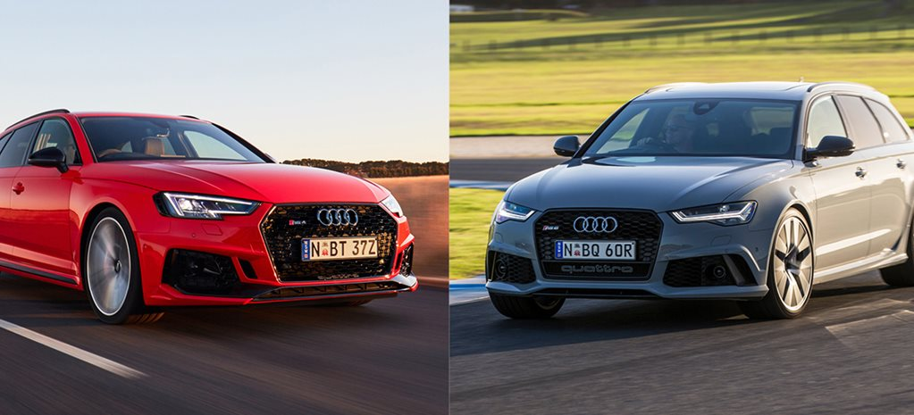 Buy the new Audi RS4 Avant or get a used Audi RS6 Performance