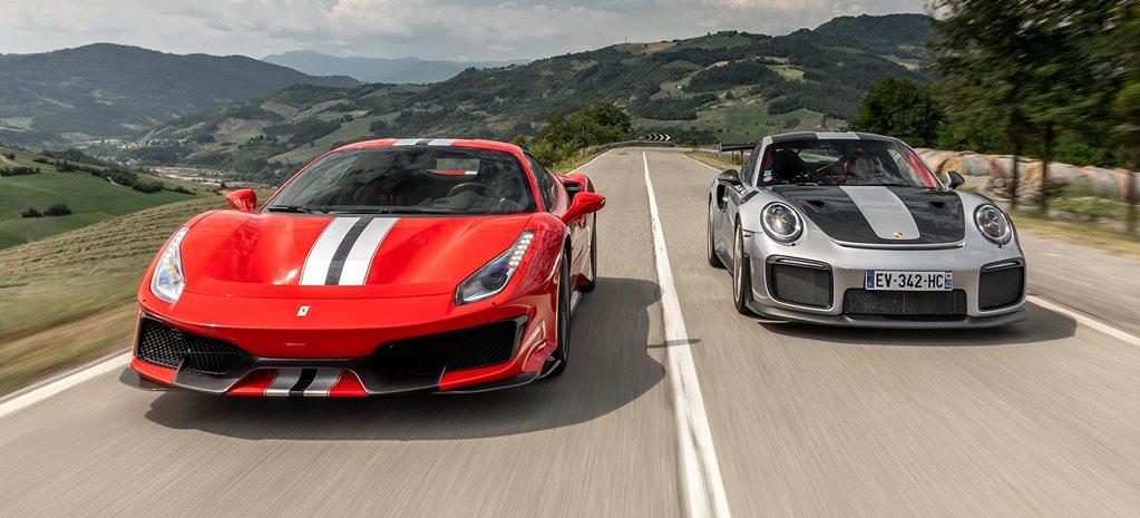 Ferrari 488 Pista vs Porsche 911 GT2 RS comparison review