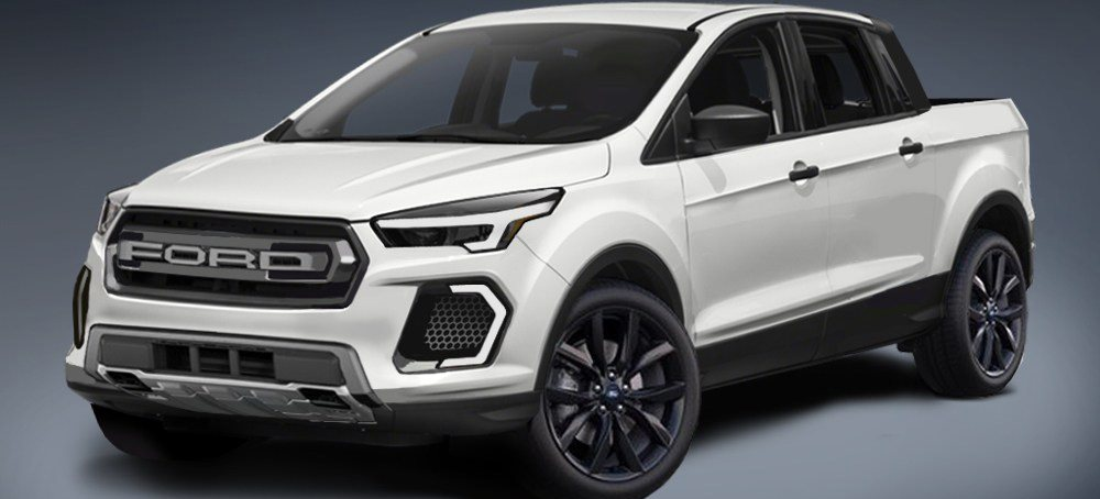 Fordâs new car-based ute under development here in Australia
