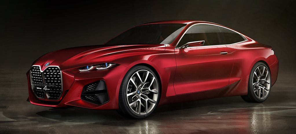 BMW's Concept 4 is an early 4-Series preview