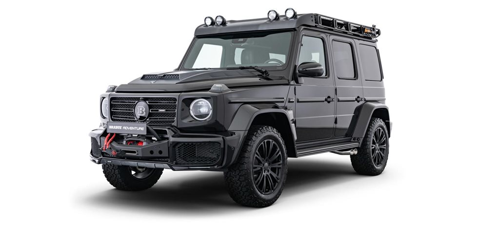 Brabus G-Wagen Adventure Package revealed Frankfurt 2019 news