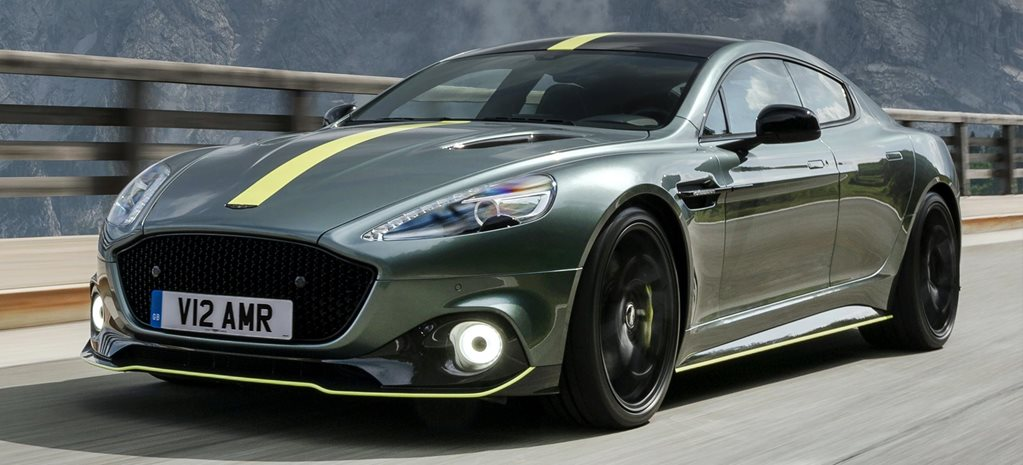 2019 Aston Martin Rapide AMR performance review feature
