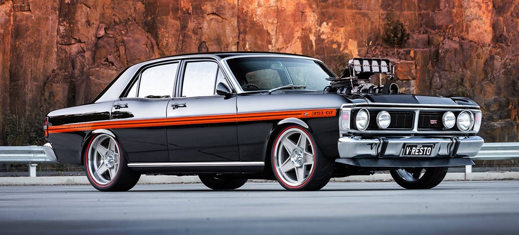 900hp Blown and injected Ford Falcon XY GT replica