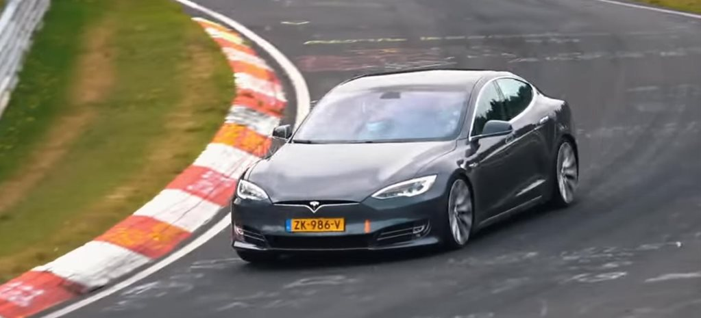 Tesla Model S faster than Porsche Taycan Nurburgring claim news