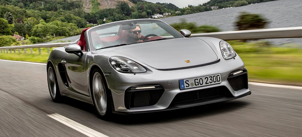 2019 Porsche 718 Spyder performance review feature