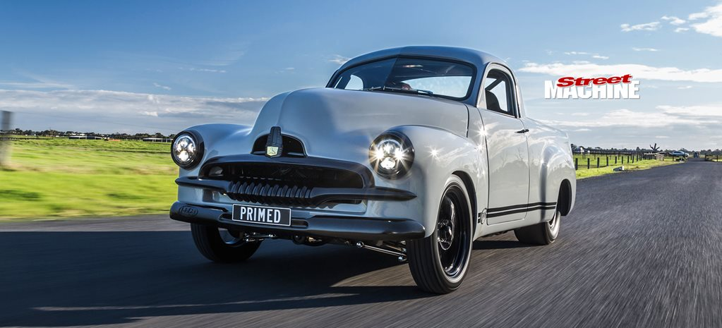 Twin-turbo LSX-powered 1954 Holden FJ ute - PRIMED