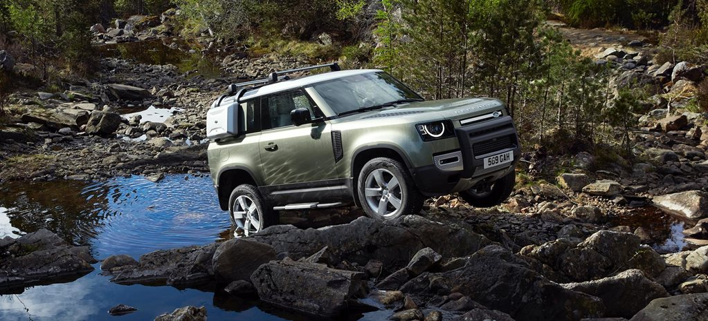 2020 Land Rover Defender debut remote control news