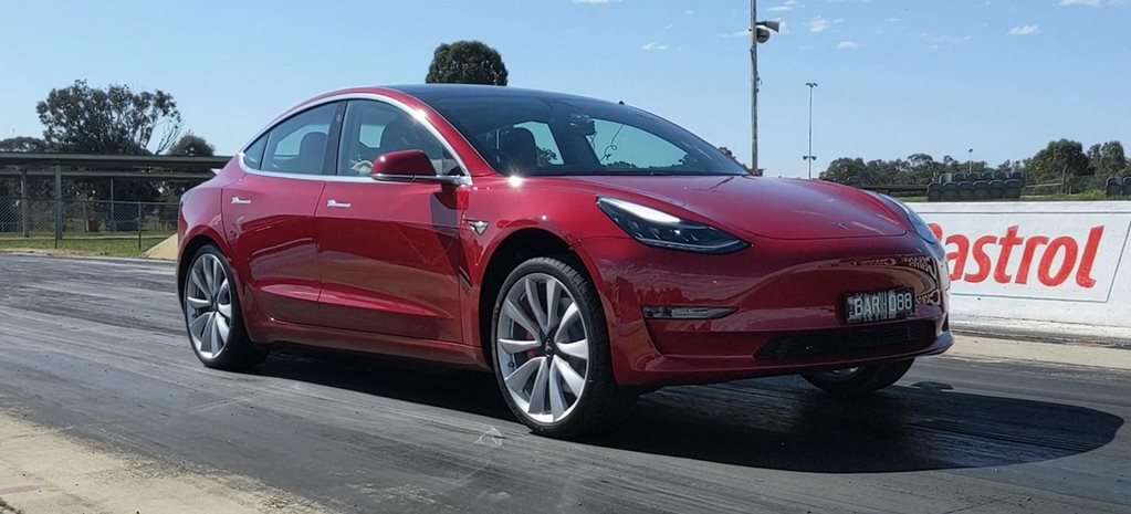 Tesla Model 3 Performance acceleration test news