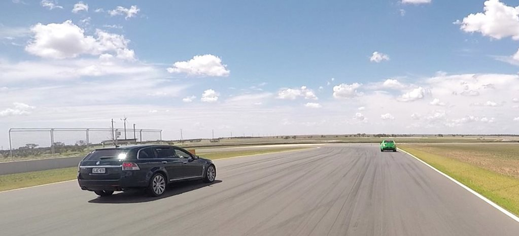 Track day at The Bend Motorsport Park in a Holden VF Calais V Sportwagon