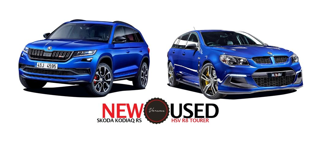 2019 Skoda Kodiaq RS vs 2015 HSV R8 Tourer New vs Used feature
