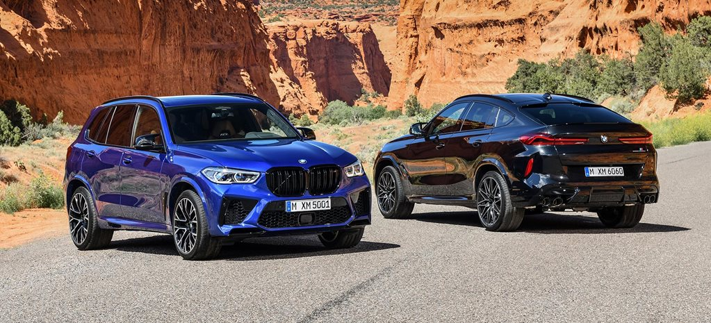 2020 BMW X5 M X6 M Competition revealed news