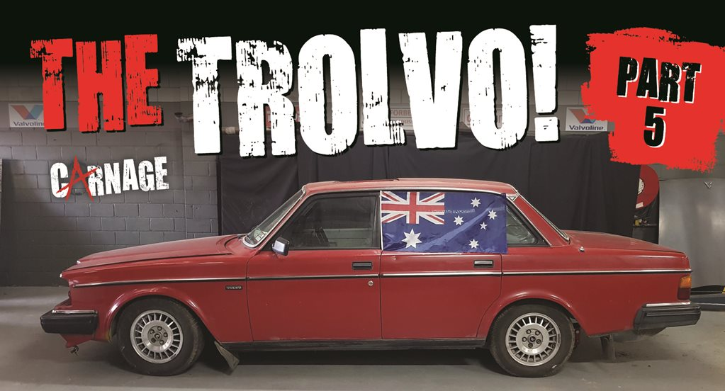 Trolvo 1JZ-powered Volvo 240 part four – Carnage episode 36